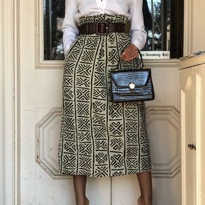 Dresses & Skirts - Vintage Printed Maxi